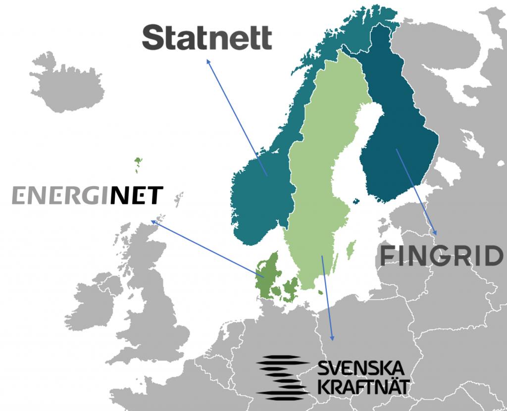 Nordic RSC Participating TSO